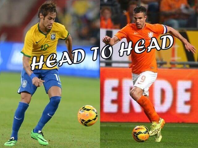 Brazil vs Netherlands Head to Head Stats