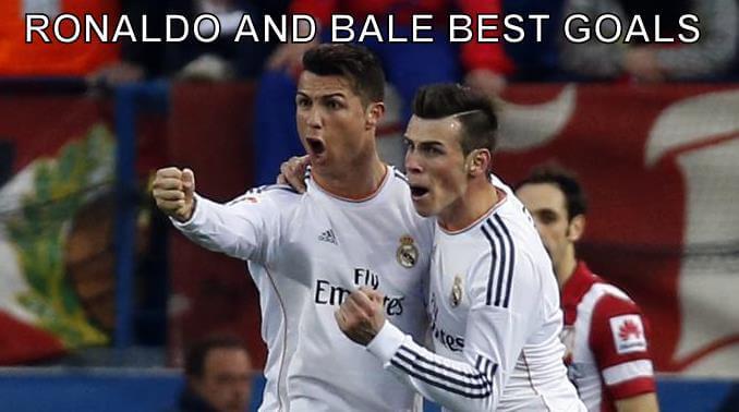 Cristiano Ronaldo & Gareth Bale Best Goals Videos