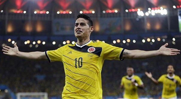 FIFA World Cup 2014 golden boot winner James Rodriguez