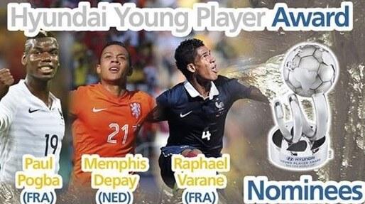 Hyundai Young Player Award 2014 Nominee List