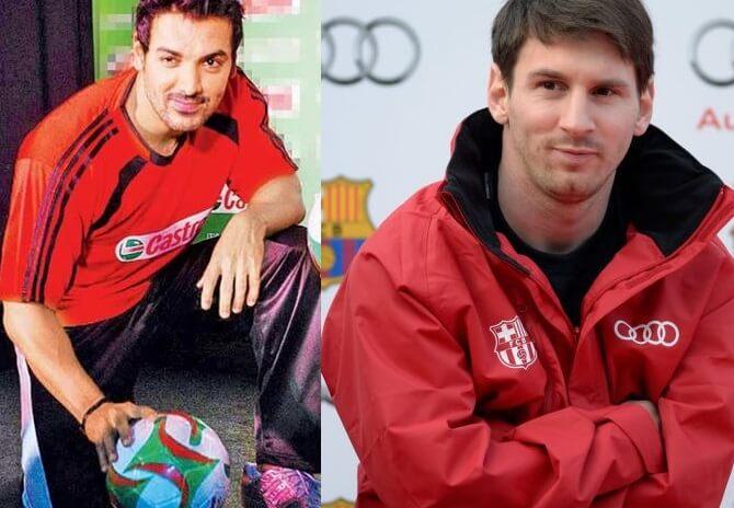 John Abraham - Lionel Messi