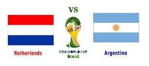 Netherlands vs Argentina 2014 Semi Final