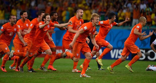 Netherlands vs Costa Rica Penalties Video of 2014 World Cup