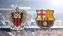 Nice vs Barcelona 2014 schedule