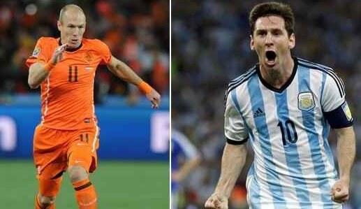 Watch Netherlands vs Argentina 2014 Online Live Stream