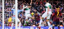 Barcelona vs Elche 2014 Preview, IST, Telecast