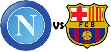 Napoli vs Barcelona 2014 time & TV channels