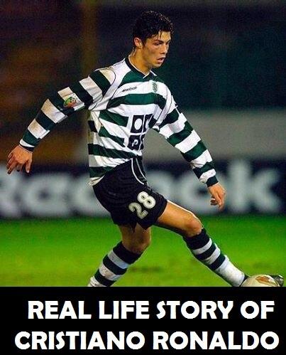 Real Life Story of Cristiano Ronaldo