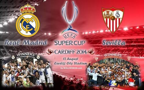 Real Madrid vs Sevilla FC 2014 Super Cup
