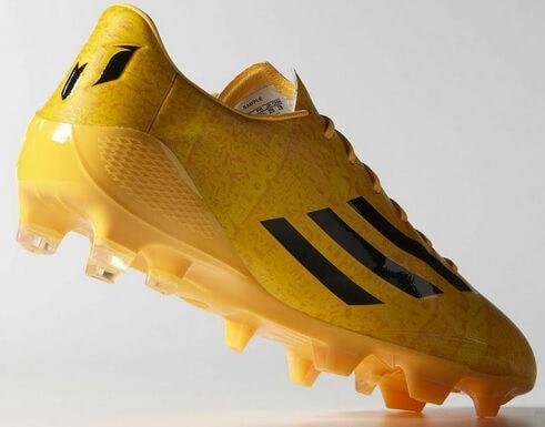 Adidas Gold Adizero Lionel Messi 2014-15 Boots Launched - Footballwood de78a7426d3d4