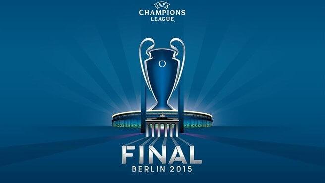 UEFA Champions League 2014-15 final logo identity