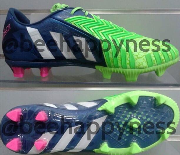 Adidas green blue predator Supernatural 2014-15