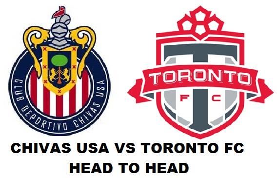 Chivas USA vs Toronto FC Head to Head