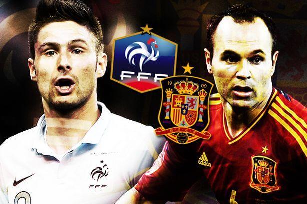 France vs Spain 2014 International friendly preview