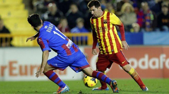 Levante vs Barcelona 2014 Preview, Time