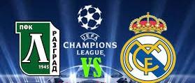 Ludogorets vs Real Madrid Time, TV telecast channels