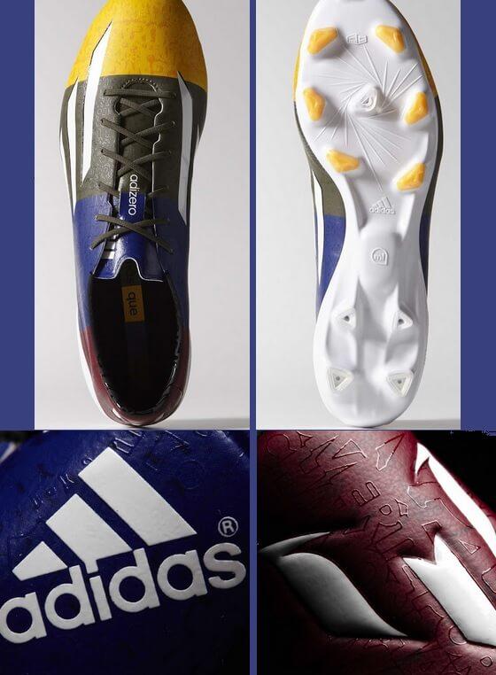 Pictures of Adizero F50 Messi Blaugrana boots