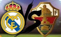 Real Madrid vs Elche Time, TV Telecast