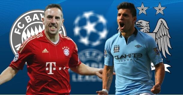 Watch Bayern Munich vs Manchester City free live streaming