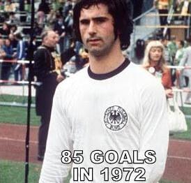 Gerd Muller top goal scorer
