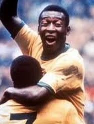 Pele in highest goal scoring record