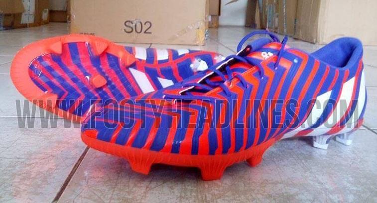 Adidas Predator Instinct red blue boots