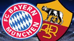 Bayern Munich vs AS Roma ist time TV info