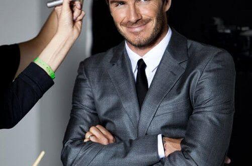 David Beckham fashion beauty inspiration
