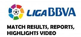 La Liga Saturday Match Results: Week 11 [8 Nov 2014] Reports