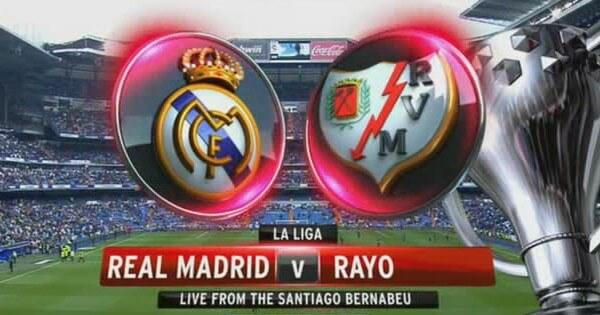 Real Madrid vs Rayo Vallecano free live streaming 8 Nov 2014