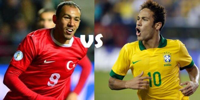 Turkey vs Brazil time tv channels