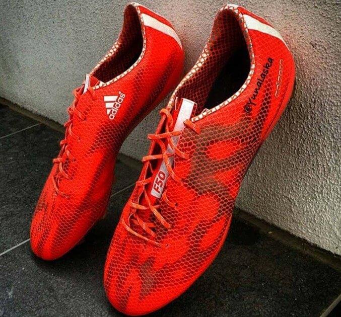 adidas adizero f50 red 2015