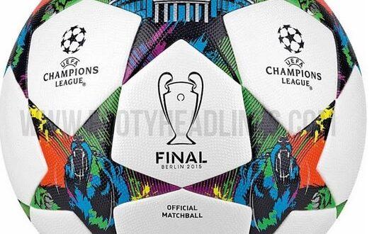 Champions League 2014-15 final match ball