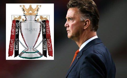Louis van Gaal aiming to the Premier League title