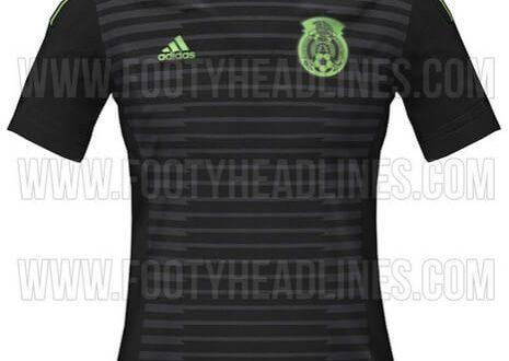 Mexico 2015 Copa America home jersey