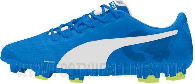 Puma Evopower White boots for Cesc Fabregas