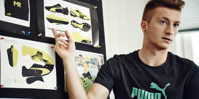 Puma Evospeed black yellow boots of Marco Reus
