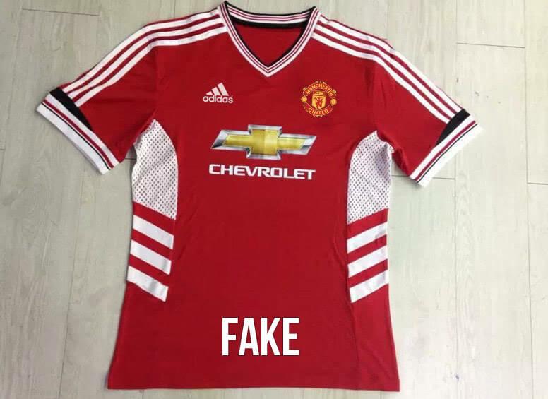 Adidas Man United 2015-16 fake jersey