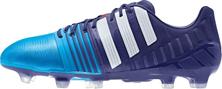 Adidas Nitrocharge 1.0FG Amazon White Blue