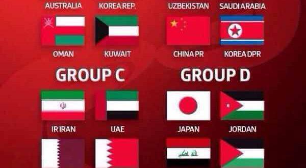 Asian Cup 2015 Football Fixture