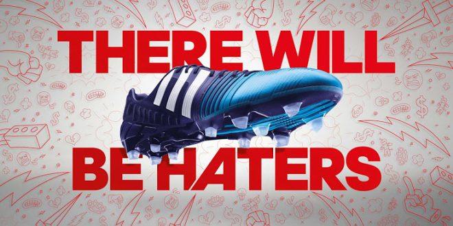 Blue Adidas Nitrocharge 1.0FG Boots