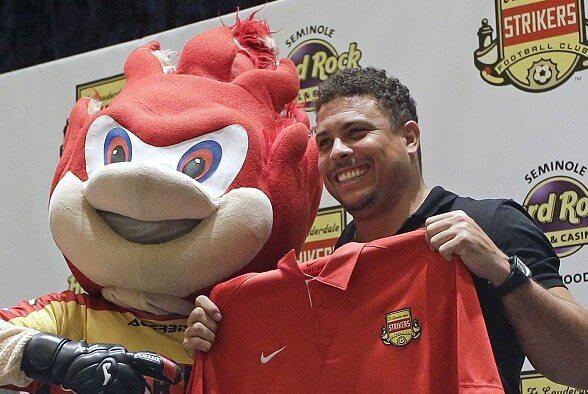 Brazil Ronaldo could return to USA club Lauderdale strikers