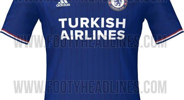 Chelsea 2015-16 Home Away Kits Leaked