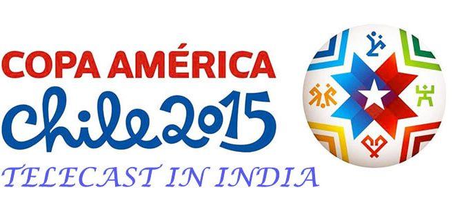 Copa America 2015 Telecast in India