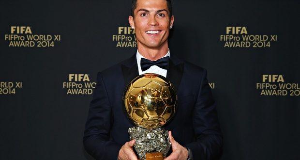 Cristiano Ronaldo completes FIFA Ballon D'Or Hat-trick