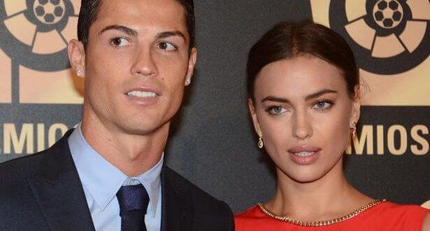 Cristiano Ronaldo's split up his girlfriend model Irina Shayk