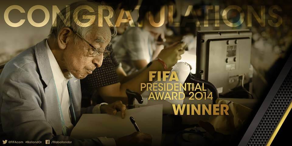 Hiroshi Kagawa Presidential award winner