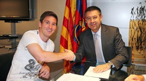 Josep Maria Bartomeu said Messi is not for sale