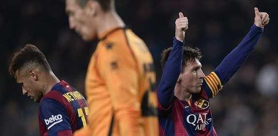 Lionel Messi goal video against Elche in Copa Del Rey
