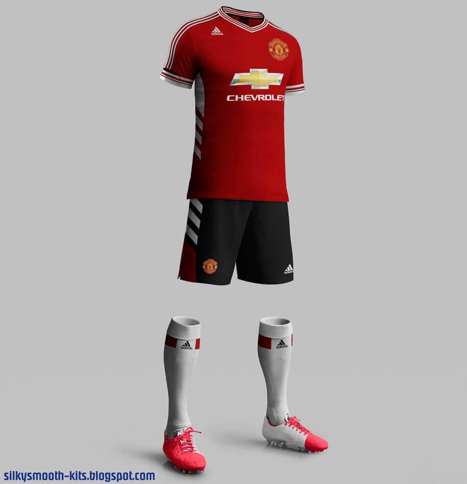 Manchester United 2015-16 home kits fake
